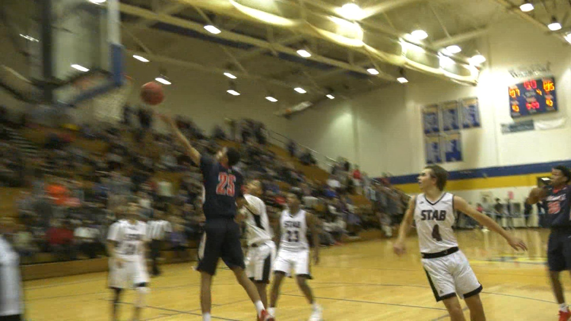 Albemarle's Maxx Jarmon made the game-winning layup at the buzzer