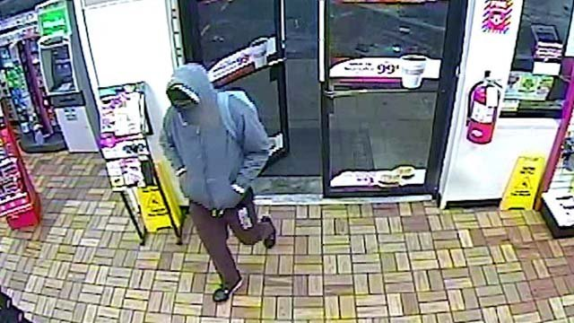 Waynesboro police are searching for a suspected robber
