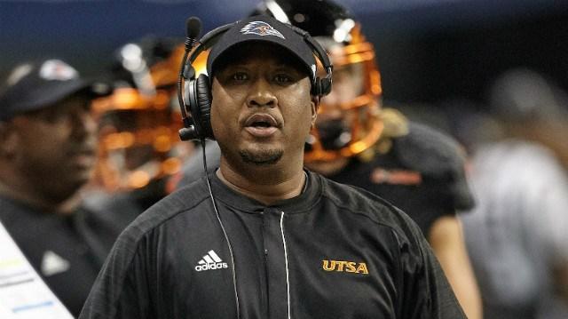 UVa special teams coordinator Ricky Brumfield
