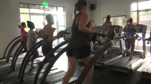 Gyms tend to see an increase in membership around the new year