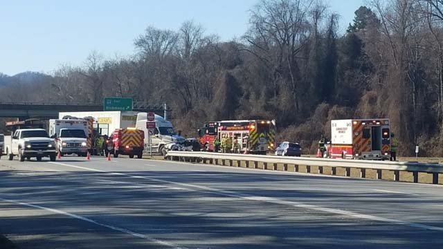 Update: Driver Dies in Crash with Tractor-trailer on Monacan Tra ...