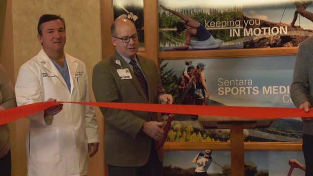 Opening of the Sentara Sports Medicine Center