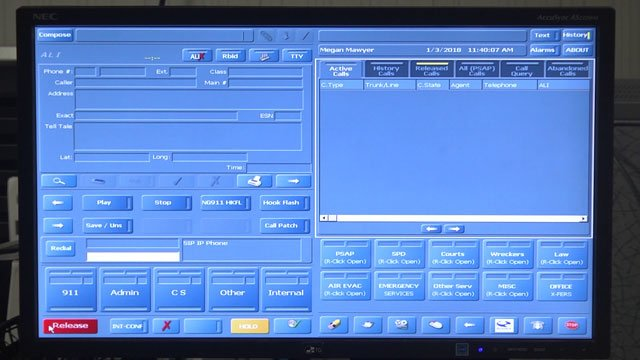 NG9-1-1 system at Staunton Emergency Center