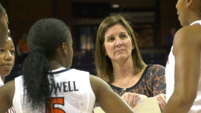 UVa head coach Joanne Boyle