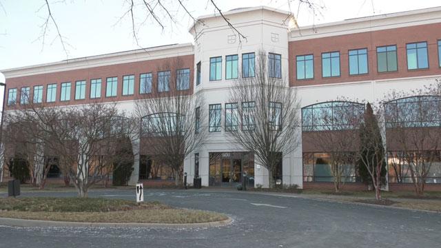 Pantops-area office building that contains Albemarle Pain Management Associates Clinic
