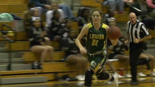 Louisa County sophomore Alexis Miller