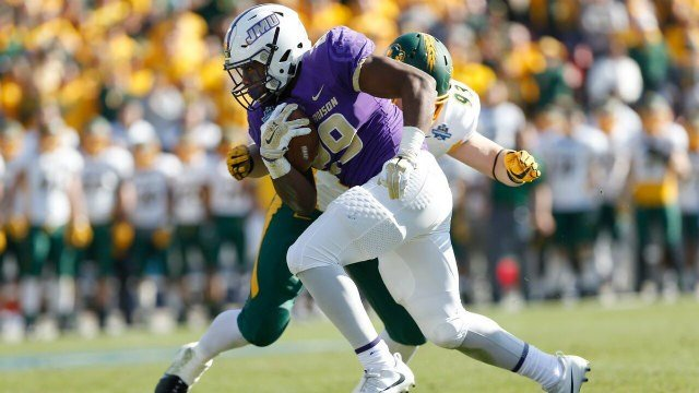 Marcus Marshall scored the only touchdown of the game for JMU