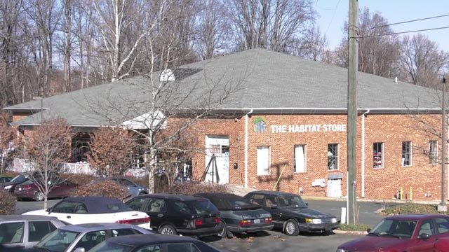 The Habitat Charlottesville Store on Harris Street