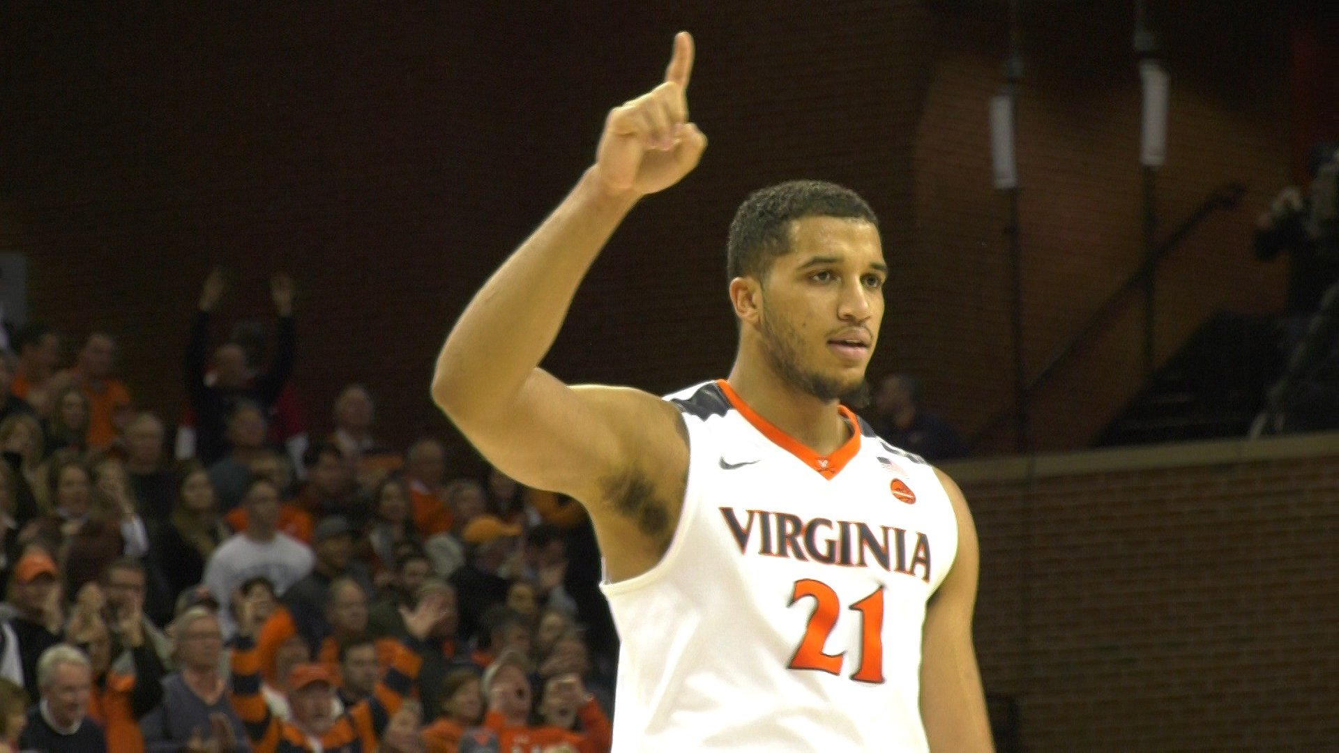 UVa senior Isaiah Wilkins