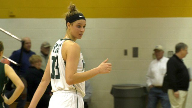 Samantha Brunelle had 39 points and 23 rebounds for William Monroe