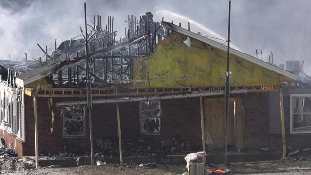 A senior assisted living home was destroyed by fire