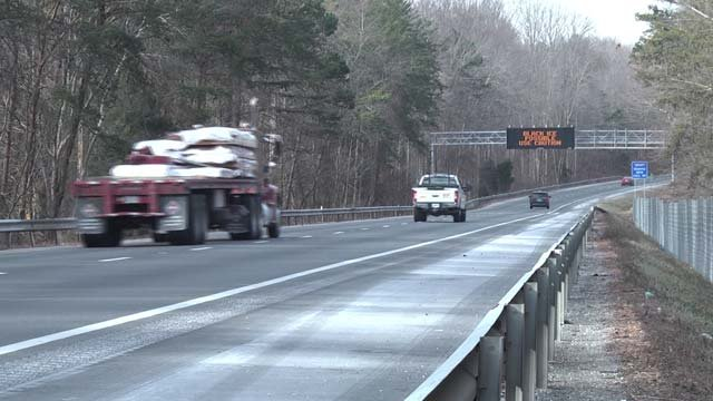 VDOT is warning drivers of slick conditions