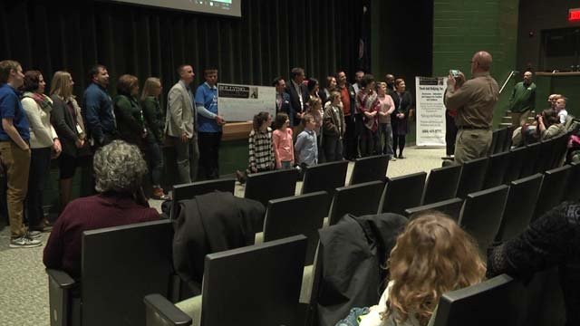 Louisa County Public Schools award ceremony