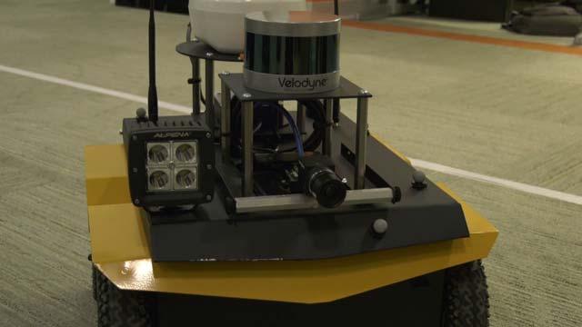 Handbuilt robot