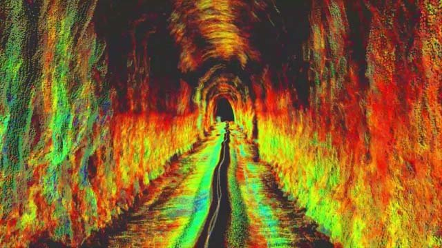 The tunnel in Crozet, as mapped by the robot