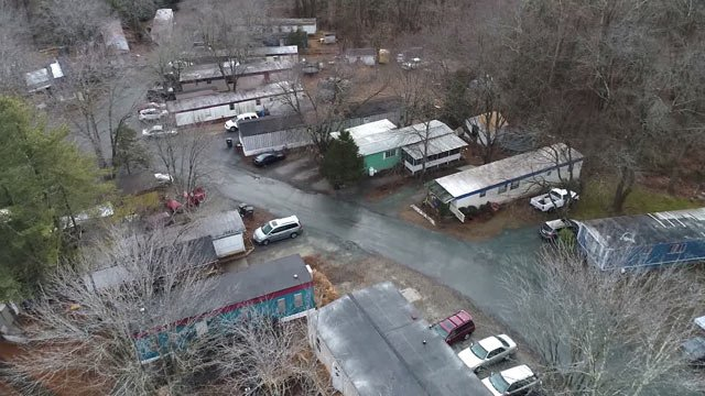 Southwood Mobile Home Park in Albemarle County