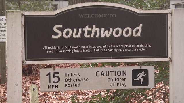 Sign for Southwood neighborhood in Albemarle County