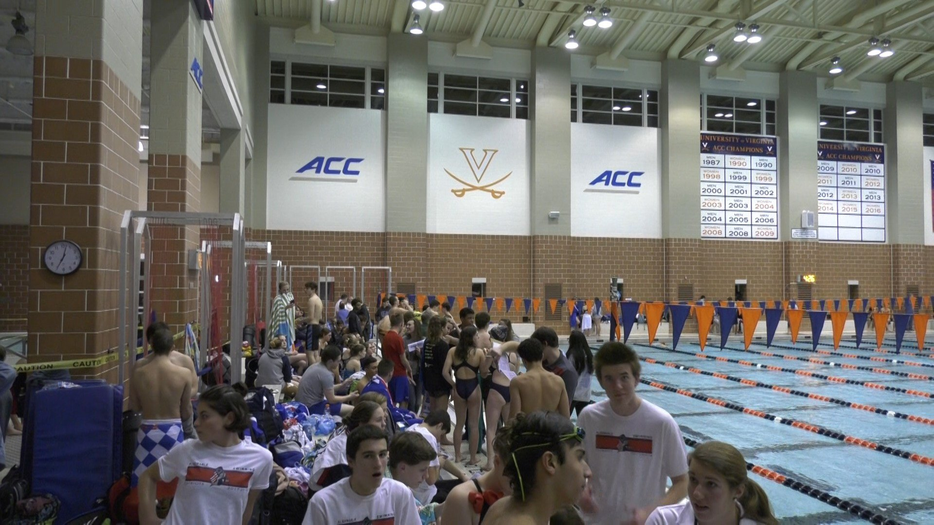 The Annual Ben Hair swim meet was held at the UVA Fitness and Aquatics Center