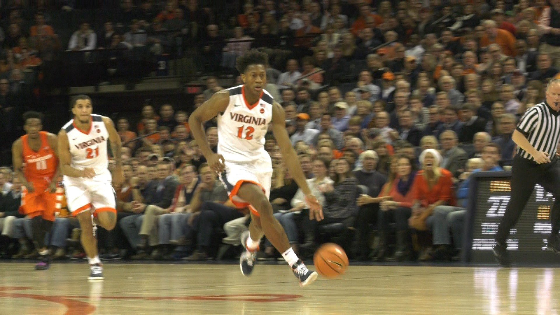 De'Andre Hunter Scored 15 points to record his third straight game with double digit points