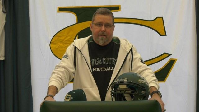 Former Louisa County head coach Mark Fischer