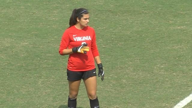 Freshman goalkeeper Laurel Ivory