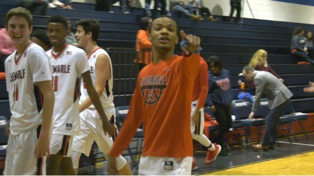 The Albemarle boys basketball team improved to 12-0 with a win against Powhatan