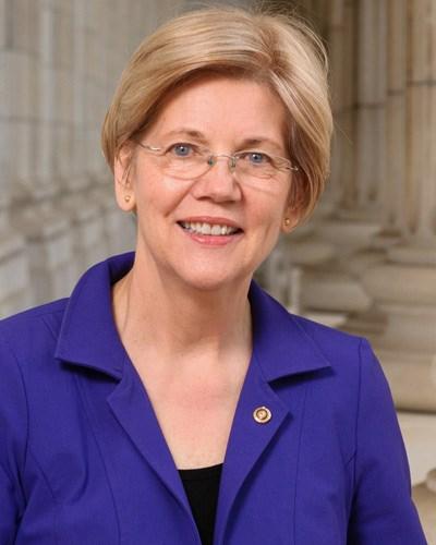 Elizabeth Warren (Photo courtesy www.warren.senate.gov)