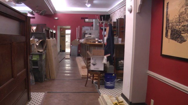 The Nook undergoing some renovations