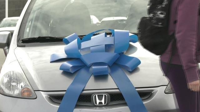 Valley Honda donated the car