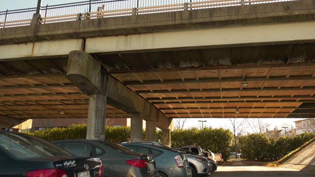 Belmont Bridge in Charlottesville