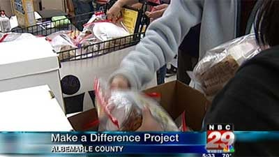Make A Difference Project At Henley Middle School Wvir