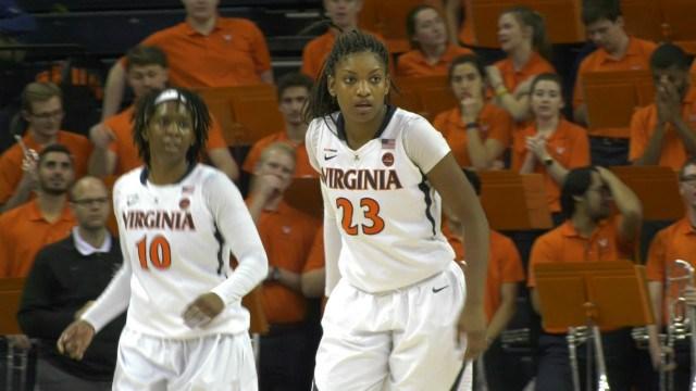 Aliyah Huland El led Virginia with a season-high 21 points