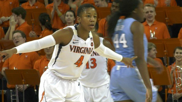 Second-ranked Virginia holds off No. 4 Duke 65-63