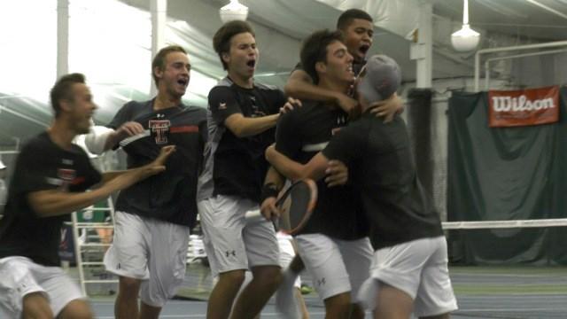 Men's Tennis at Texas A&M Postponed to Sunday