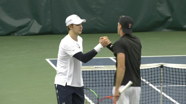 Men's Tennis at Texas A&M Postponed to Sunday