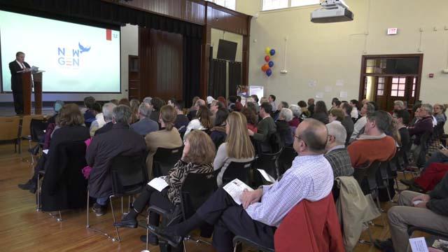 NewGen Peacebuilders presented on Jan. 28