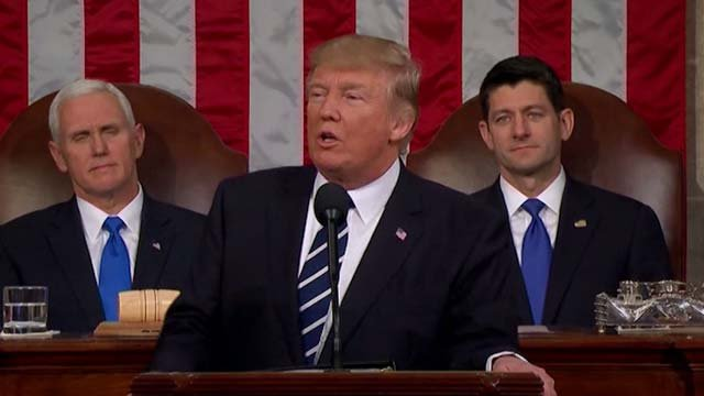 President Trump will deliver his State of the Union address Tuesday night