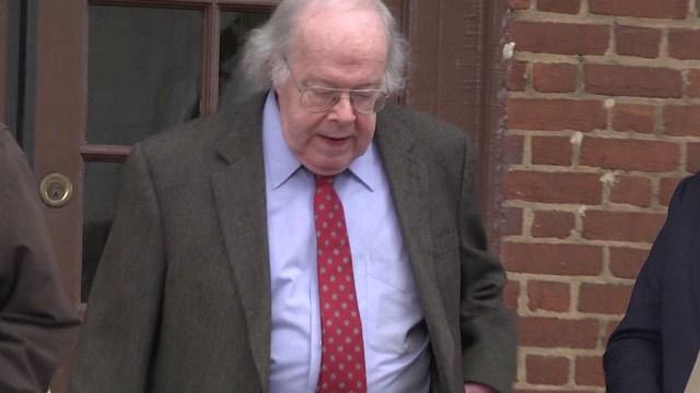 Walter F. Korte Jr. leaving Albemarle Circuit Court (FILE IMAGE)