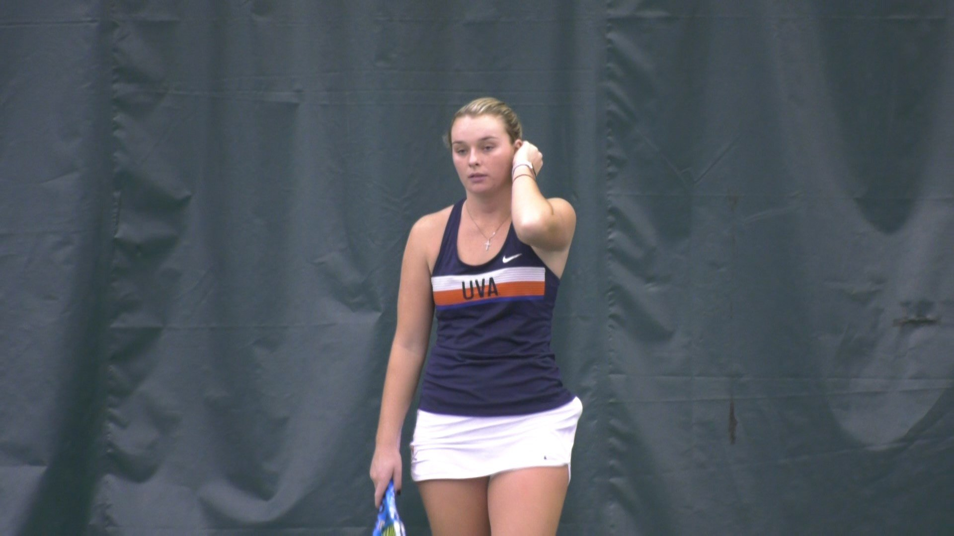 Cassie Mercer then capped the rally as she gutted out a third-set tiebreak to secure the Virginia victory