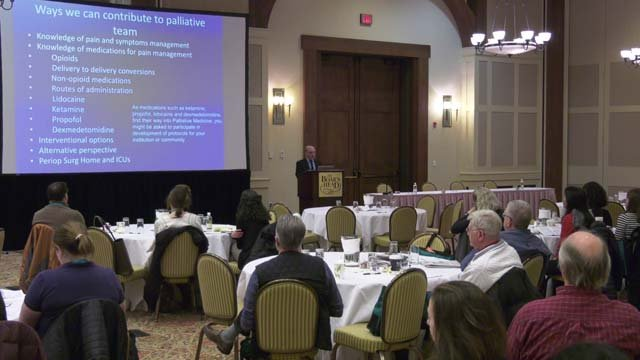 Doctors with the Virginia Pain Society met on Feb. 3-4
