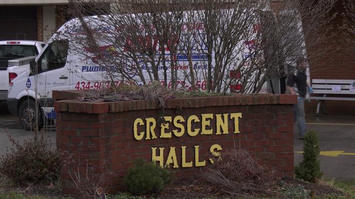 Crescent Halls is a 105-unit apartment building.