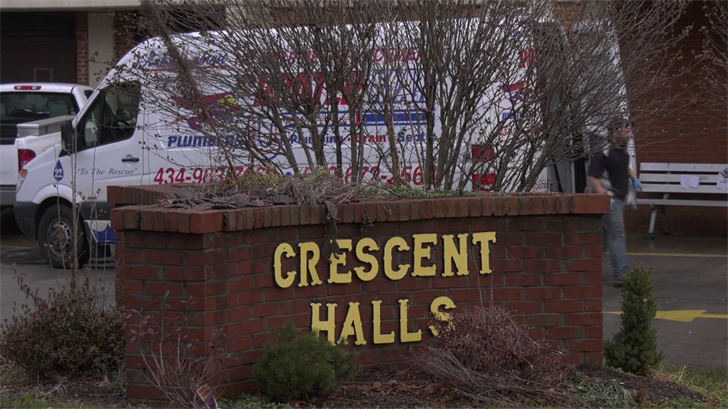 Crescent Halls is a 105-unit apartment building.