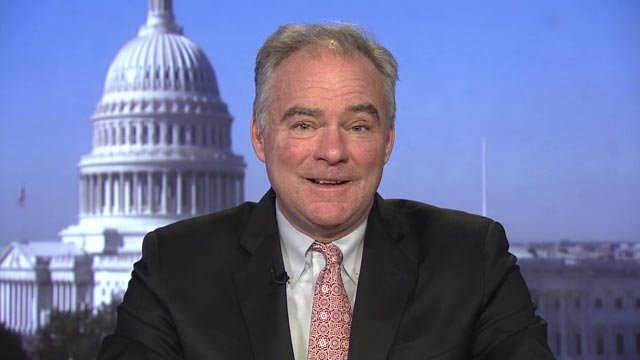Tim Kaine introduced legislation on Feb. 6