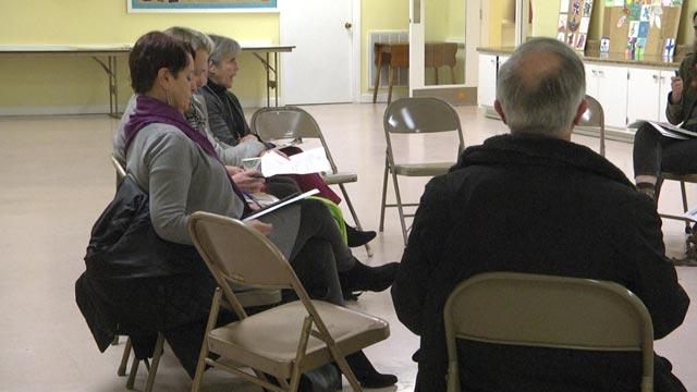 Members of Virginia Organizing met on Feb. 6