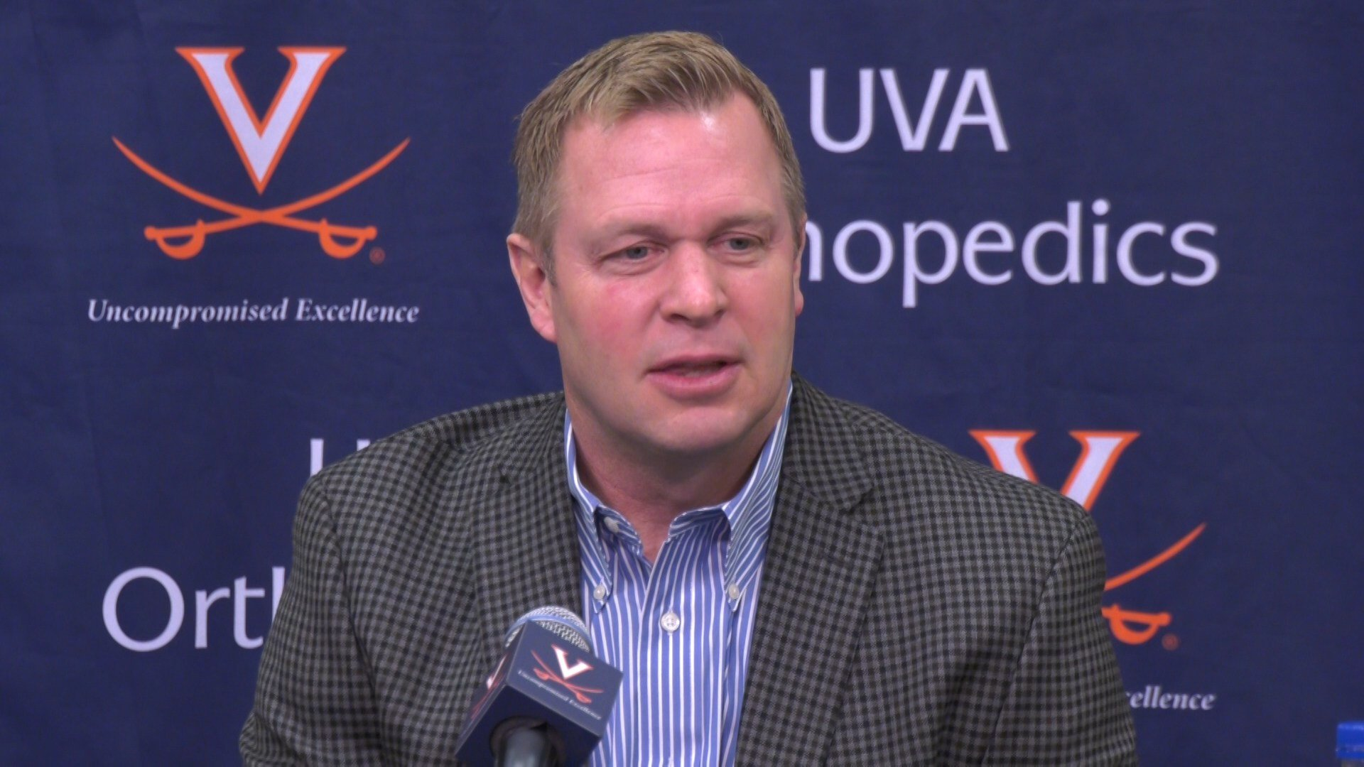 Bronco Mendenhall at today's Signing Day press conference