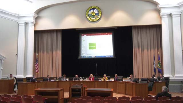 Albemarle Board of Supervisors on February 7