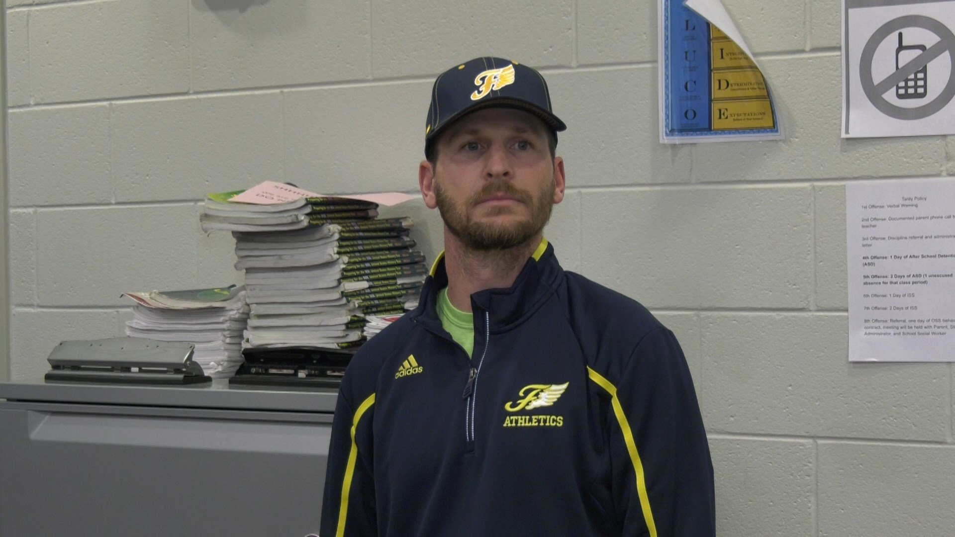 New Fluvanna County football coach Josh Wallace