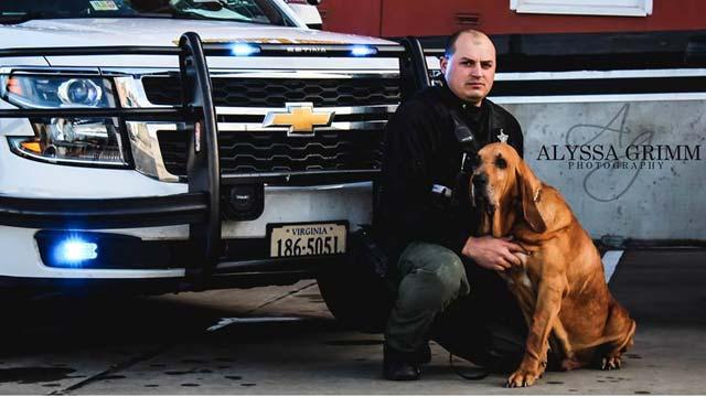 Augusta County laid to rest K9 Deputy Joe on Friday