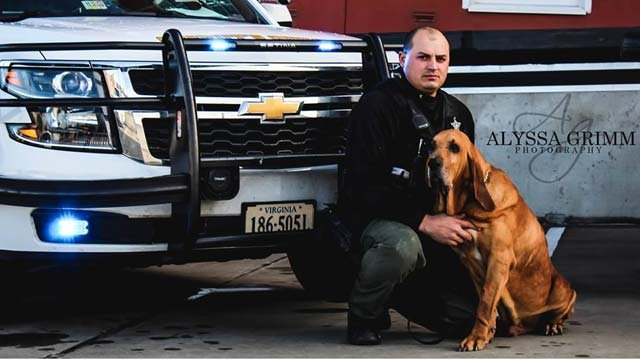 Augusta County laid to rest K9 Deputy Joe on Friday