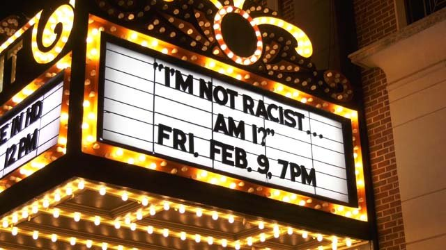 """I'm not Racist...Am I?"" played at the Paramount on Friday"